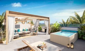 The island's north hosts prime luxury real estate in Mauritius