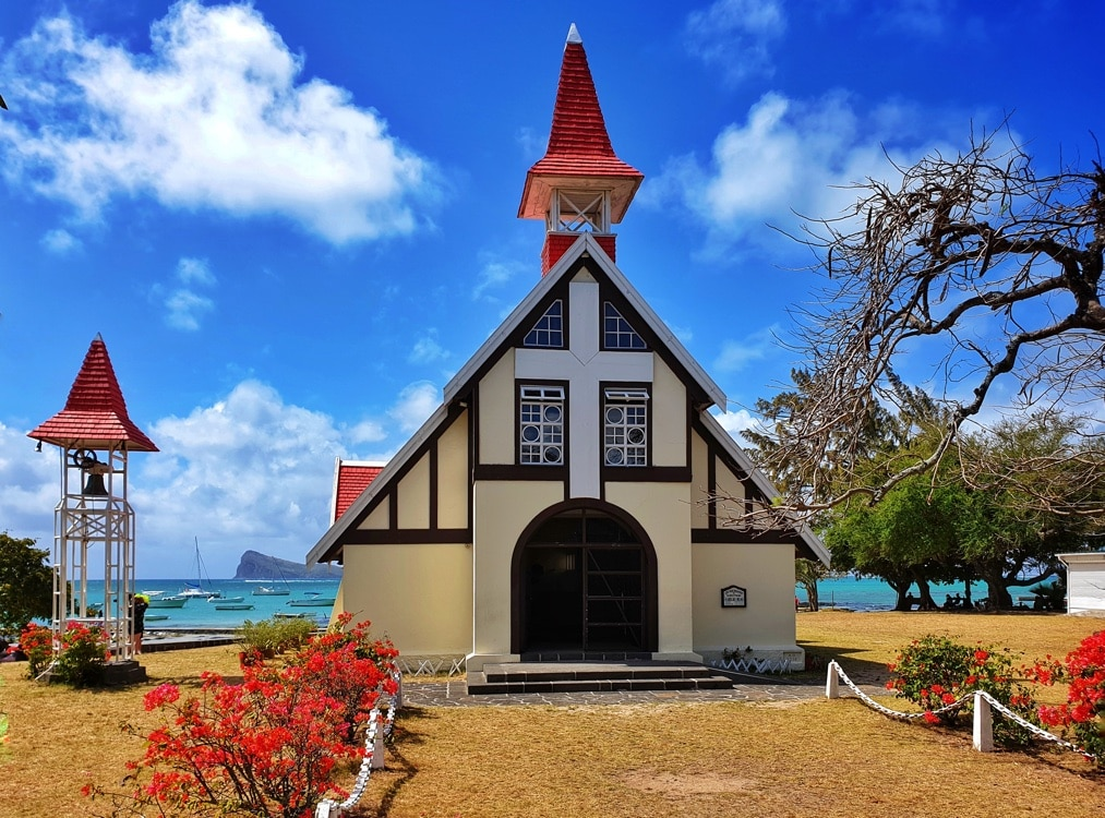 All Saints Day in Mauritius - Church of Cap Malhereux